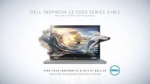 17. Dell tablet - surfer